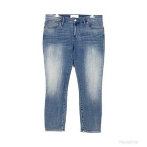 Madewell Light Wash Cropped Jeans Size 31